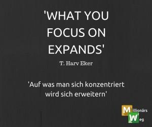 Durch Fokus erweitern