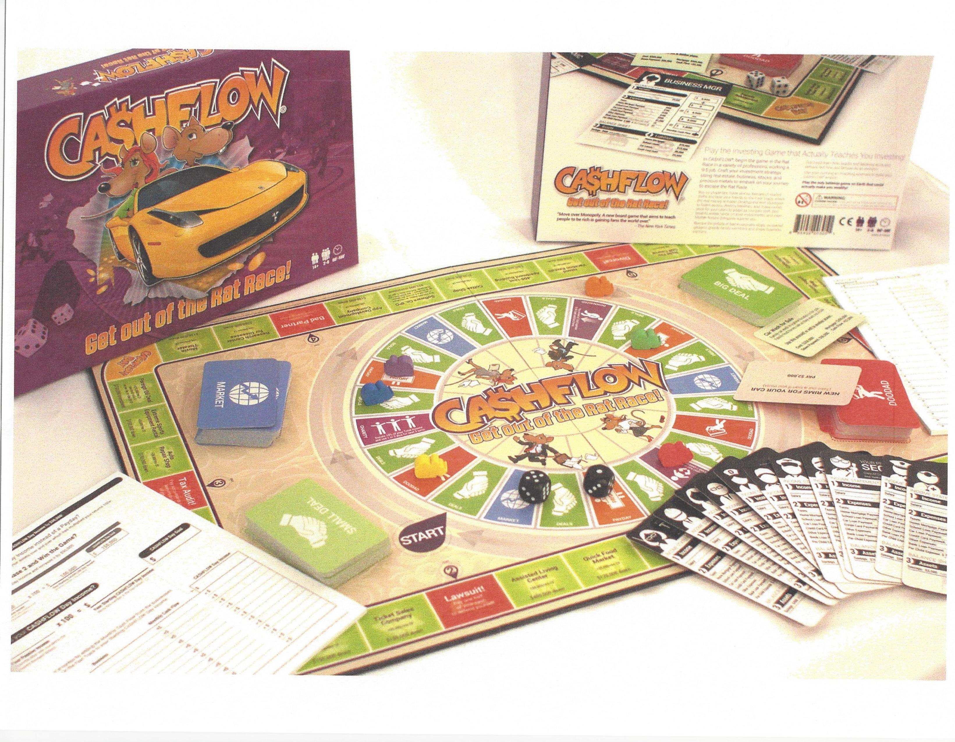 Cashflow 101 Spielbrett